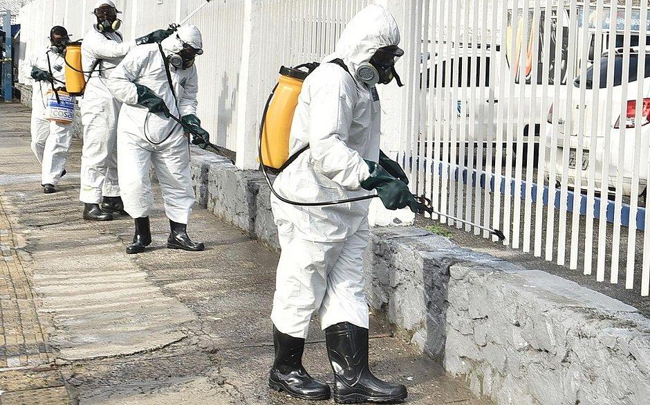 Mais de 9 mil ações de desinfecção já foram realizadas contra a covid-19 em Salvador