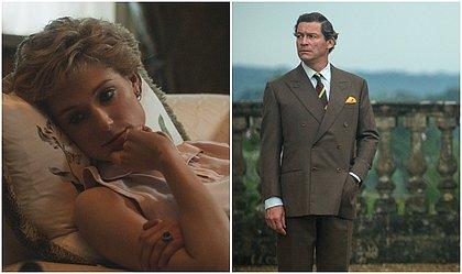 Os atores Elizabeth Debicki e Dominic West viverão Lady Di e o príncipe de Gales