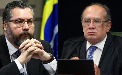 Gilmar Mendes desmente Ernesto Araújo e o acusa de propagar 'fake news'