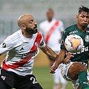 Pinola, do River Plate, e Rony, do Palmeiras