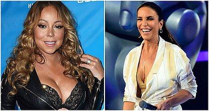 Ivete Sangalo recebe parabéns de Mariah Carey no aniversário
