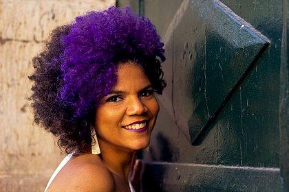 A cantora Juliana Ribeiro