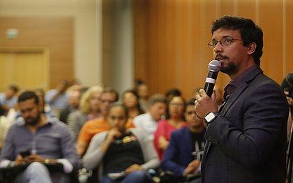 Thiago Avancinni ministrou oficina sobre uso de moedas digitais, principalmente o Bitcoin, explicando sua história e vantagens