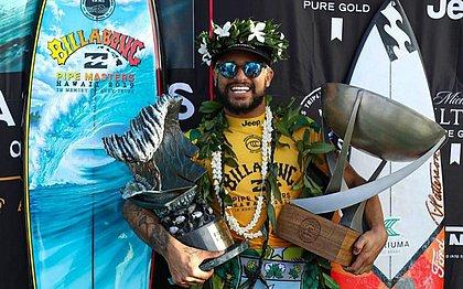 Atual campeão mundial de surfe, Italo Ferreira concorre ao prêmio Laureus