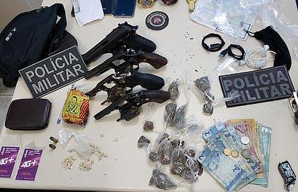 Polícia mata quatro suspeitos de tráfico, roubos e homicídios emJaguaripe