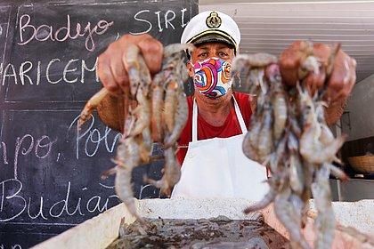 A preço de placa de ovo: quilo de camarão fresco chega a ter queda de 44% na pandemia