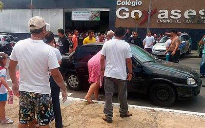'Mirou em mim, mas não conseguiu', diz colega de atirador de Goiânia