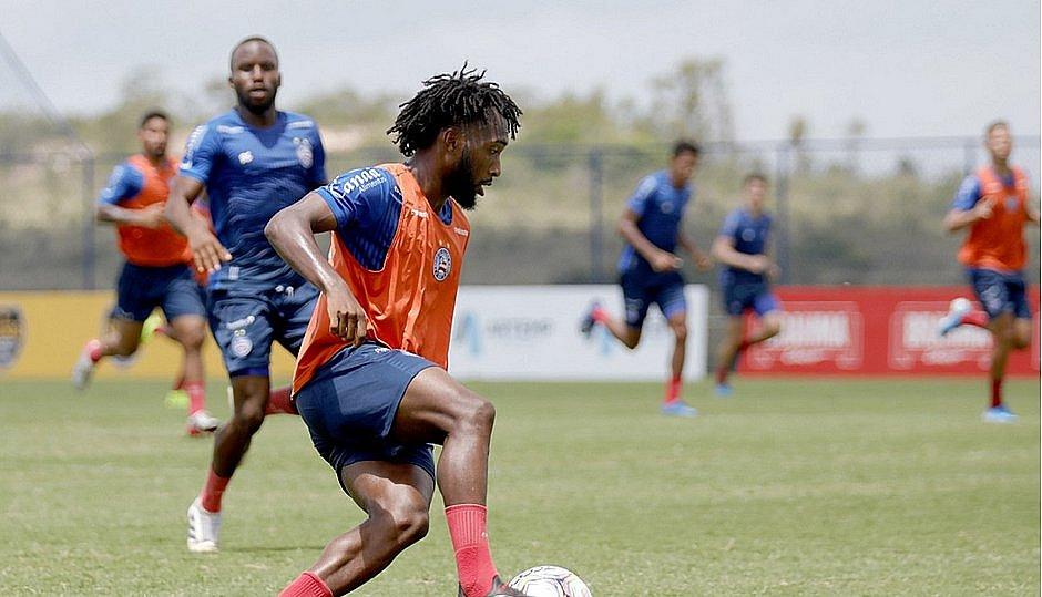 Gustavo ganhou destaque atuando pelo time de aspirantes do Bahia