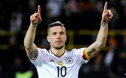 Podolski foi campeão do mundo pela seleção alemã em 2014