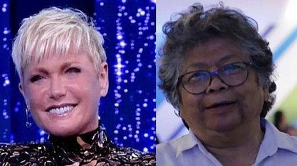 A apresentadora Xuxa e sua ex-empresária Marlene Mattos