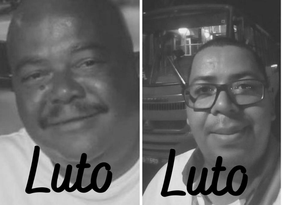 Carlos Alberto à esquerda e Valdemar Júnior à direita