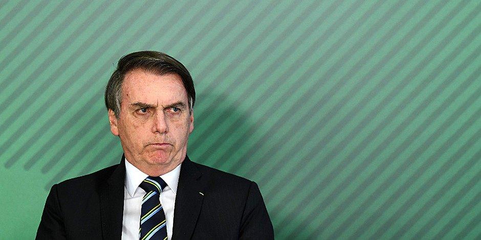 Mais da metade da população desaprova a maneira de Bolsonaro governar