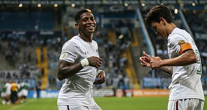 Yony foi insultado por torcedor após marcar gol do triunfo do Fluminense sobre o Grêmio