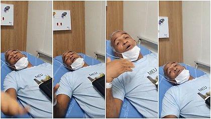 Sargento Isidório dá entrada em hospital em Salvador e pede orações
