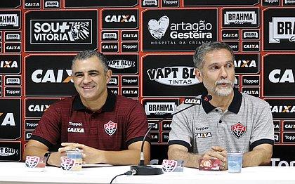 Chamusca e David tentam levar o Vitória de volta à elite do Brasileirão