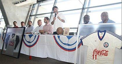 Lançamento do museu tricolor contou com a participação dos campeões de 88