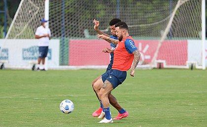 Bahia fez último treino antes de encarar o Manaus, pela Copa do Brasil