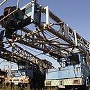 Sondas de produção de petróleo abandonadas em Santana, distrito de Catu