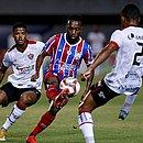 Gustavo perdeu chance incrível e o Bahia não passou de um empate sem gols no Ba-Vi