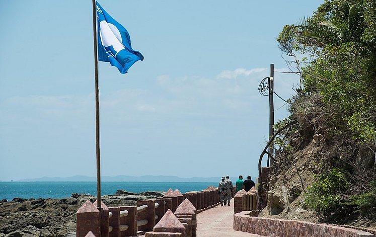 selo bandeira azul