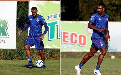 Wanderson e Ernando disputam posição na defesa do Bahia
