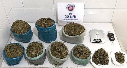 PM prende três e apreende 13 quilos de maconha em Juazeiro