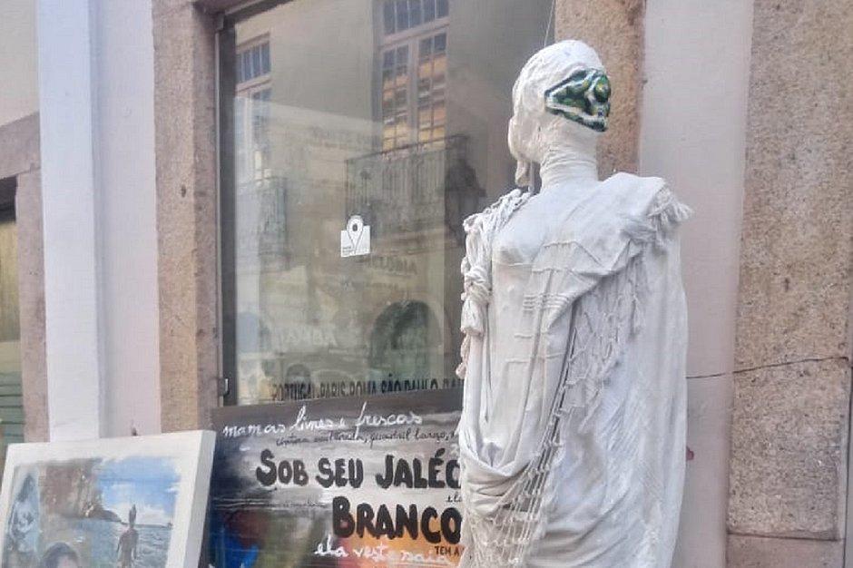 Exposição no Pelourinho faz homenagem a profissionais da saúde