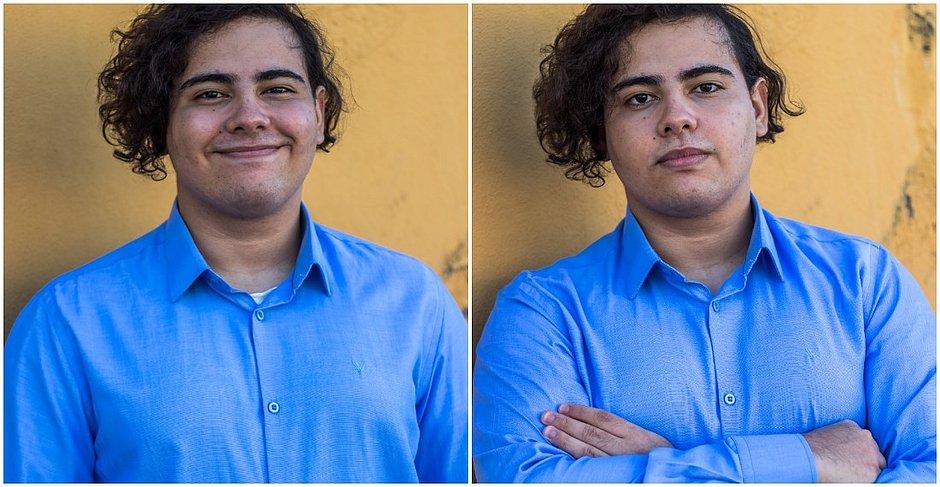 Lucas Teixeira é estudante do Colégio Leffler