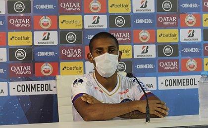 Ramon diz que classificação na Sula dá confiança para Brasileiro