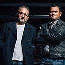 Benard Attal e Jurandhy viajaram para acompanhar a exibição do documentário na Grécia