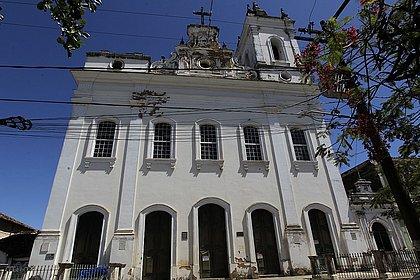 Fachada da Igreja de Santo Antônio Além do Carmo