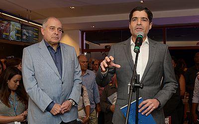 Antonio Carlos Júnior e ACM Neto destacam herança de ACM para o estado