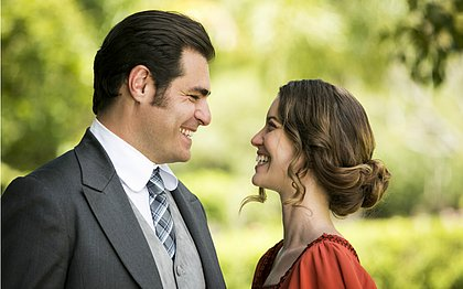Thiago Lacerda é Darcy e Nathalia Dill, Elisabeta