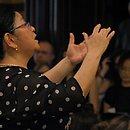 Naomi Munakata era maestrina titular do Coral PaulistanoMário de Andrade, do Theatro Municipal de São Paulo