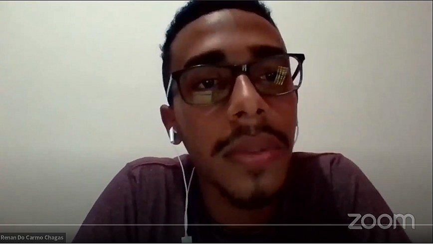 Jovem baiano do Parque Social compartilha iniciativas locais de cidadania