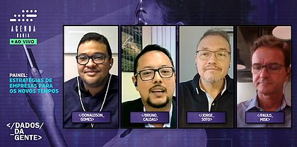 Donaldson Gomes, Bruno Caldas, Jorge Soto e Paulo Misk