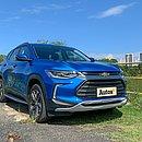 Em maio o Tracker foi o modelo mais vendido da categoria. Anteriormente importado do México, agora o veículo é produzido no Brasil