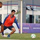 Daniel treinou após se recuperar da covid-19 e pode ser novidade do Bahia contra o Sport
