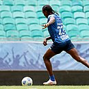 Bahia conta com os gols do colombiano Hugo Rodallega para vencer o Bragantino, na Fonte Nova