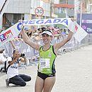 Conceição Oliveira, de 41 anos, venceu nos 42km