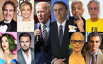 Artistas dos EUA e Brasil pedem a Biden que não feche acordos com Bolsonaro