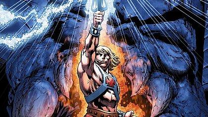 He-Man é um herói que luta contra vilões como Sombria e Esqueleto