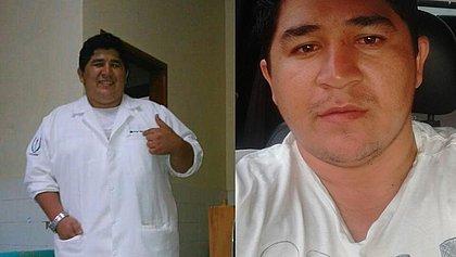 Diego Villalobos Bibiano foi identificado pela família da paciente por ter usado CRM de outro médico