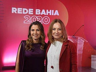 Renata Correia, diretora do CORREIO, com a publicitária Vera Rocha