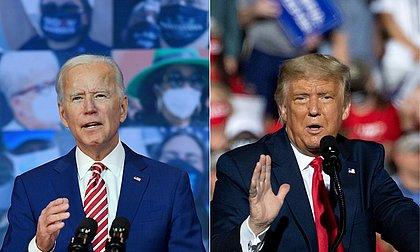EUA: Biden corta vantagem de Trump na Georgia