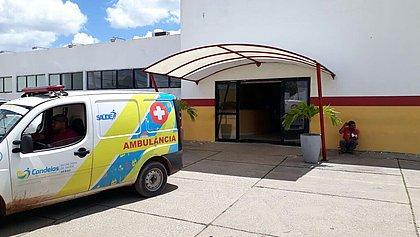 Hospital Municipal Ouro Negro, em Candeais, onde jovem internado foi executado