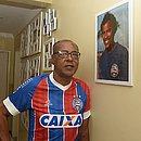 Sapatão na casa onde morava, no Costa Azul, em setembro de 2019