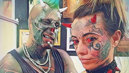 'Diabão' recebe alta e 'Mulher Demônia' agradece: 'Graças a Deus'