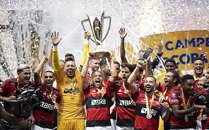 Flamengo conquistou pela segunda vez seguida a taça