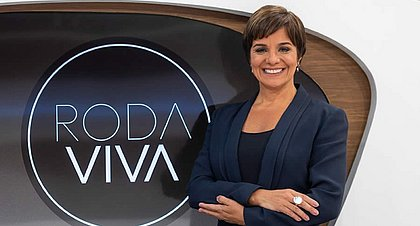 A jornalista Vera Magalhães apresenta o Roda Viva